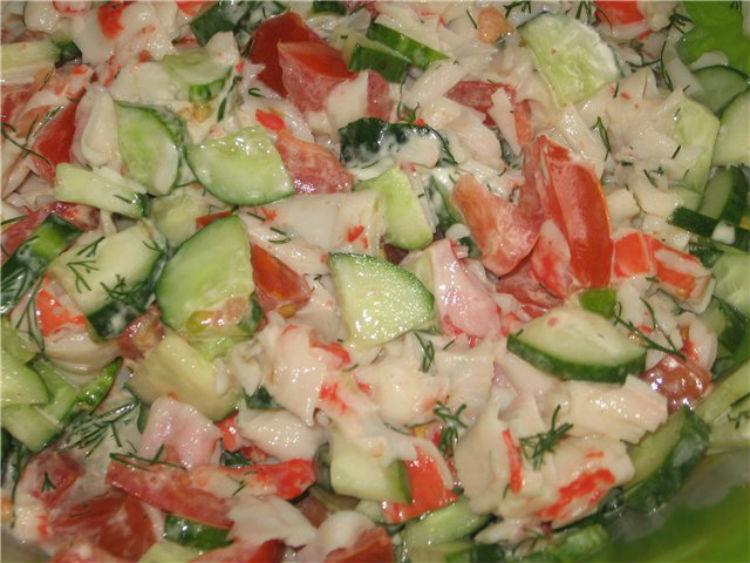 козел в огороде салат рецепт классический