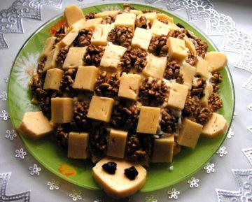 Рецепт салата черепах