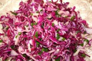 капуста рецепты салатов