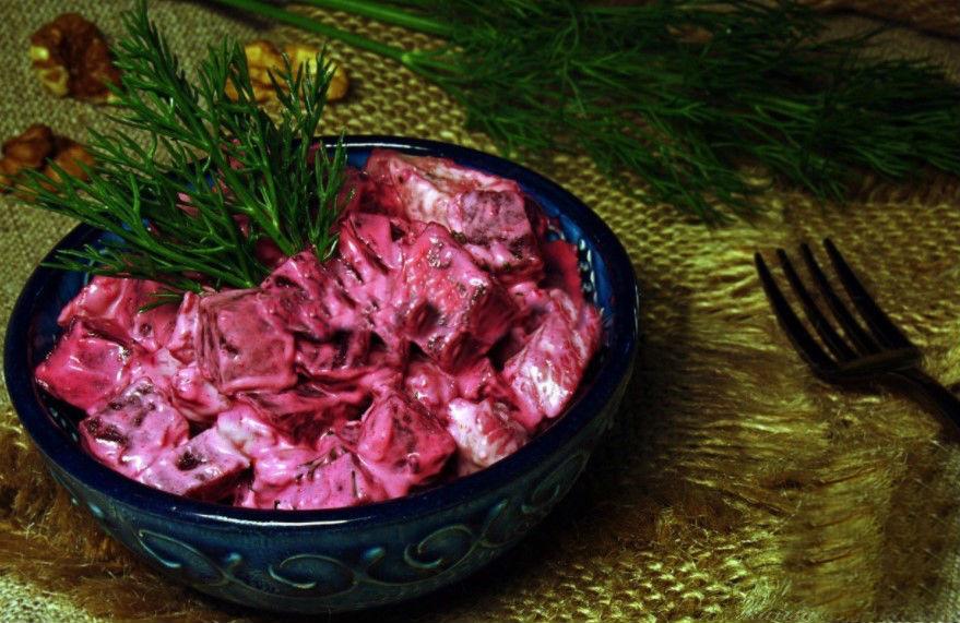 салаты рецепты из свеклы простые и вкусные