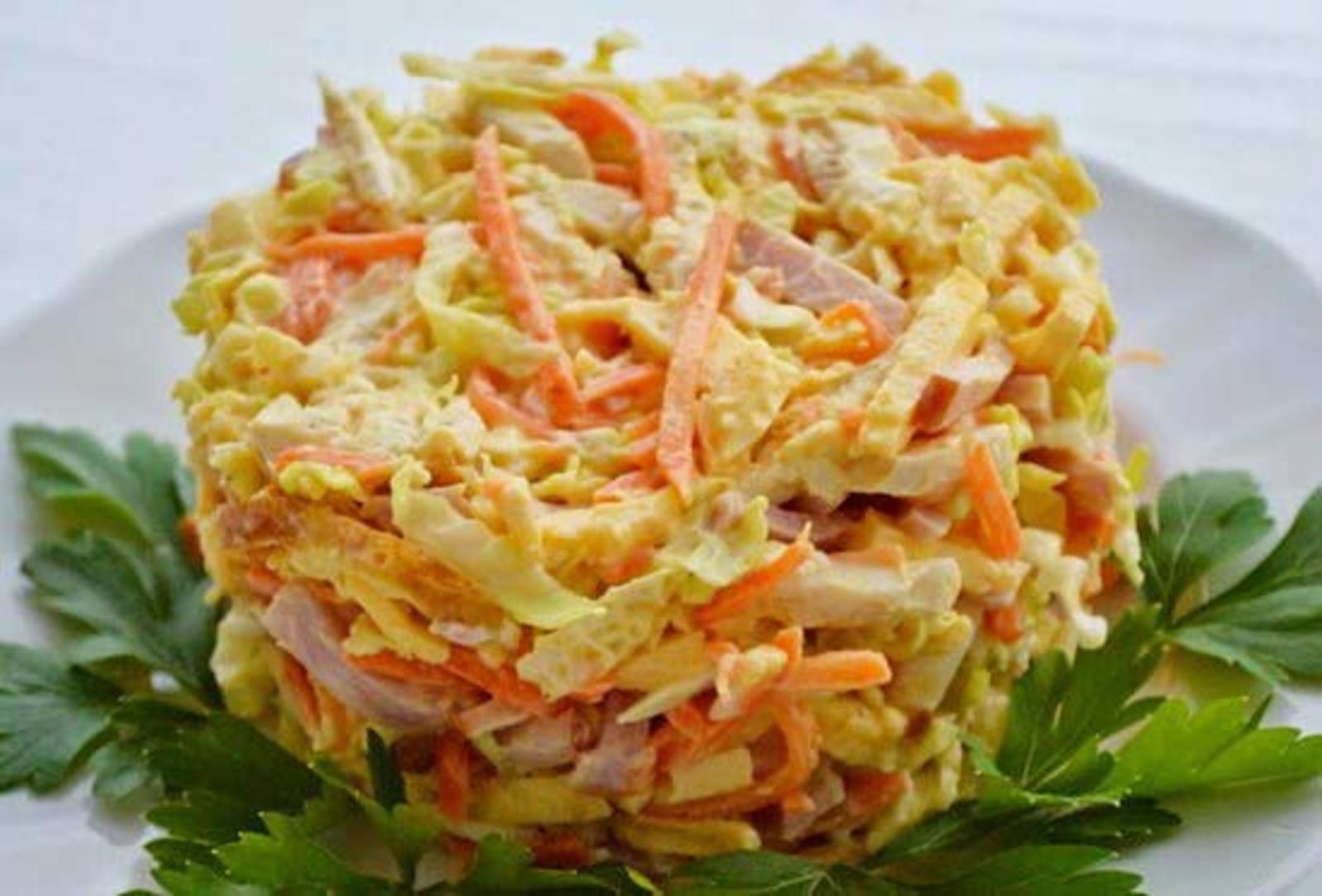 Смотреть Салат из тунца с корейской морковью видео